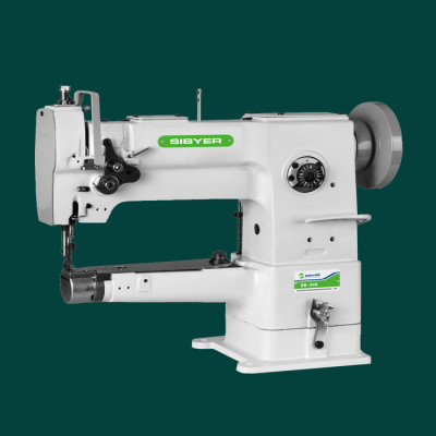 SINGLE-NEEDLE UNISON FEED CYLINDER SEWING MACHINE