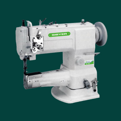 SINGLE-NEEDLE UNISON-FEED CYLINDER SEWING MACHINE