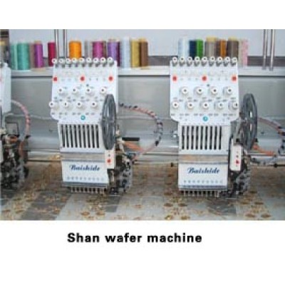 Embroider biplate machine