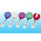 Translucent Plastic Badge Reel