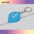 Drip Shaped Steel Mini key ring tape measure with Your Logo