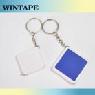 Custom mini square tape measure with Keychain