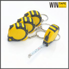 Mini Steel 100m keyring tape measure with Your Logo