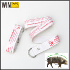 OEM or ODM Service Animal Weight Measuring Tape Bespoke Ribbon Cattle Weighband