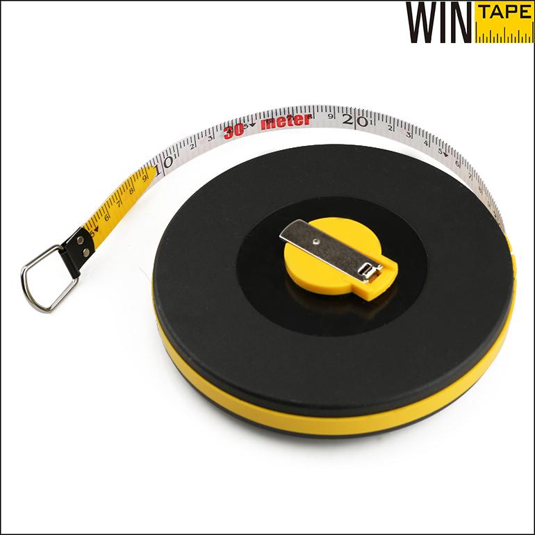 100ft 30meters fiberglass tape retractable pvc measurement tool
