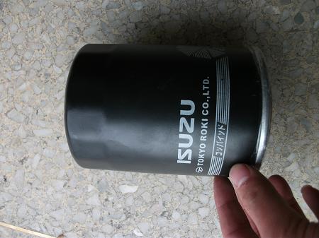 Hangcha forklift parts 894367-2922  ISUZU 5L Fuel Filter