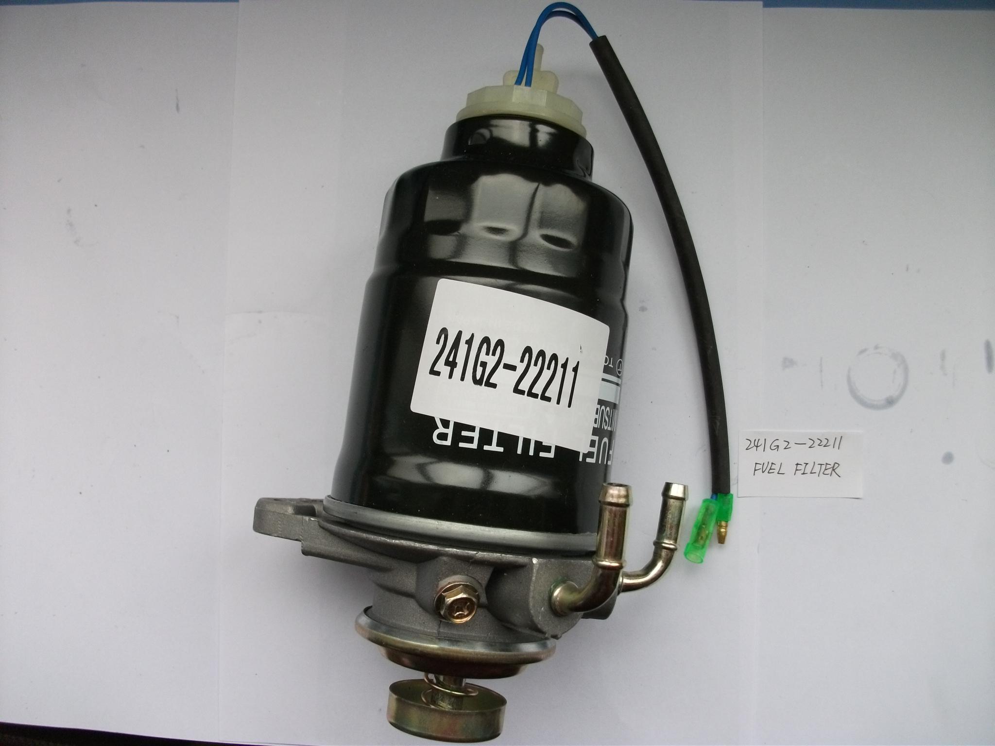 TCM forklift parts:241G2-22211 FUEL FILTER