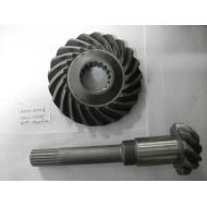 Hangcha forklift parts:14463-42001&14453-22021 Shaft, Output&Gear