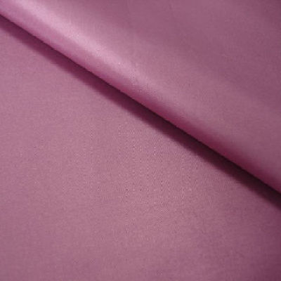 satin with blackout coating used for curtains