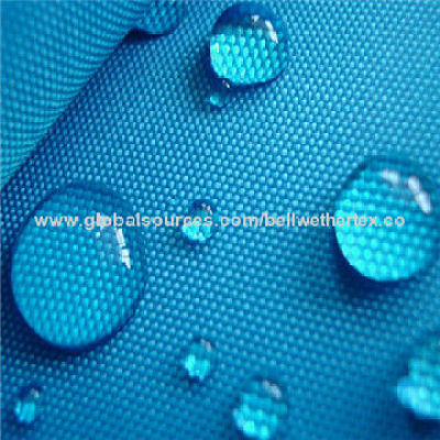 PA/PU coated waterproof polyester Oxford fabric