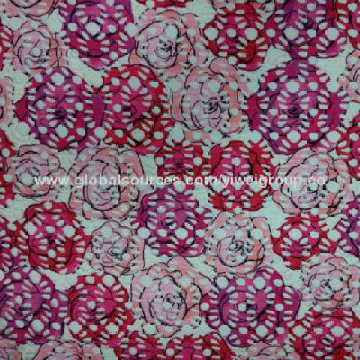 Printed Mesh Fabric with 155cm Width