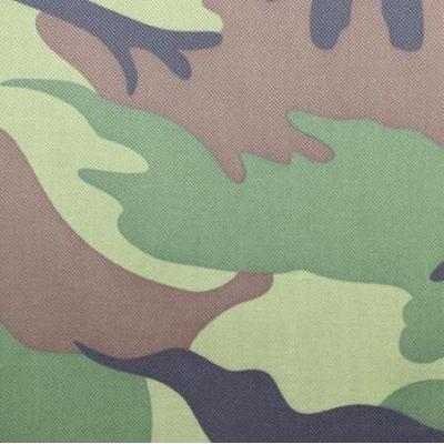 Polyester 600D military camouflage printing