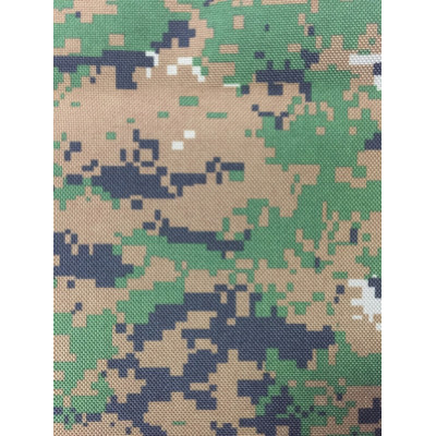 100%Polyester High Strength 600D Cordura with printing and PU coating