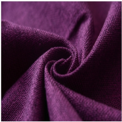 2017 Hot Sale Purple Linen Furniture Fabric