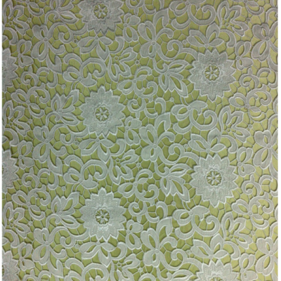 Fashional Latest Design Embroidery Fabric for Garment and Hometextile
