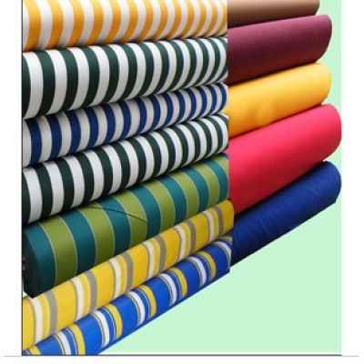 Polyester Yarn-dyed Stripe outdoor fabric