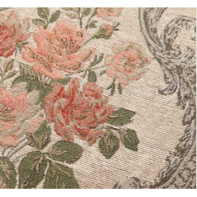 Upholstery Jacquard Chenille Curtain Fabric
