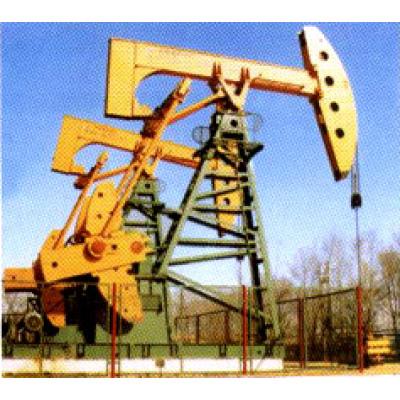 Offset-Wheel Beam Pumping Unit