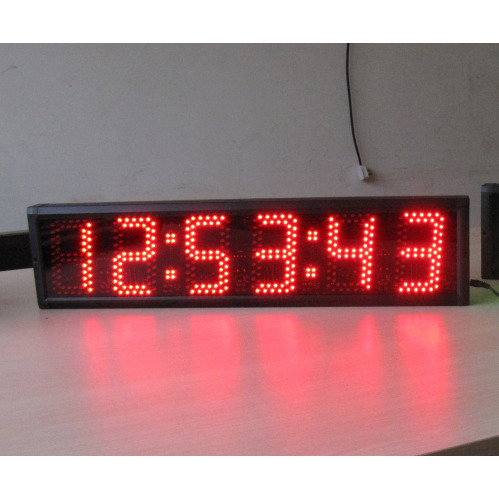 Semi outdoor led wall clock 5 large led digital clock china led semi outdoor led wall clock 5 amipublicfo Image collections