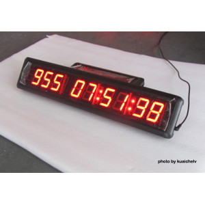 1.8 Inch LED Countdown Clock 9 Characters LED Digital Countdown Timer