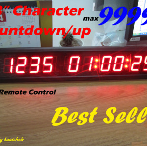LED Digit Countdown Counter LED Countdown Clock 1.8