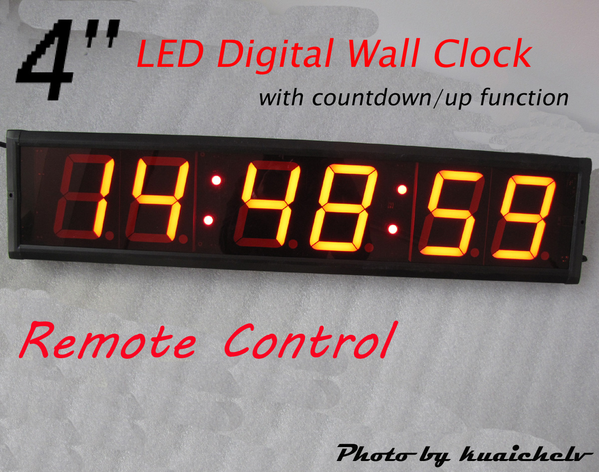 Large 4 large led digital wall clock hours minutes seconds format large 4 large led digital wall clock hours minutes seconds format support 1224 hour display and countdownup function china led wall clock manufacturer amipublicfo Images
