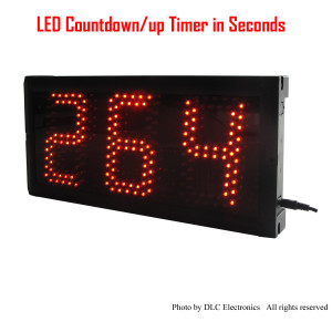 LED Timing Clock LED Countdown/up Timer LED Seconds Timing Clock