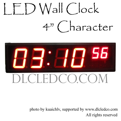 Large digital led wall clock hours minutes seconds format 1224 large digital led wall clock hours minutes seconds format 1224 hours format wall clock amipublicfo Image collections
