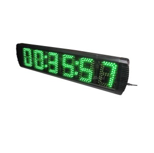 NEW ARRIVAL GREEN COLOR LED Race Timing Clock 5
