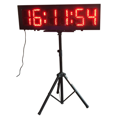 "8"" 6 Digits Double Sided LED Race Timing Clock for Running ..."
