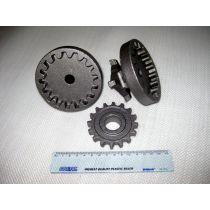 precise steel casted gears, gear tray