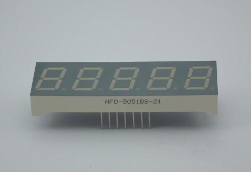 LED Five Digit Display