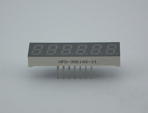 LED Six Digit Display