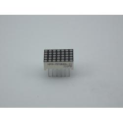 0.70inch 5×7 Dot Matrix Display