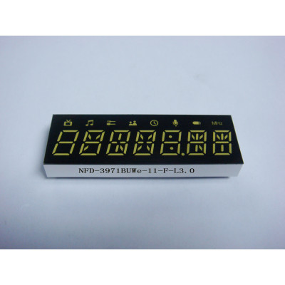 LED Seven Digit Display
