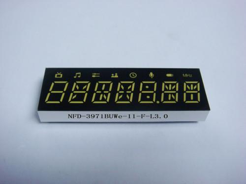 LED Seven Digit Display