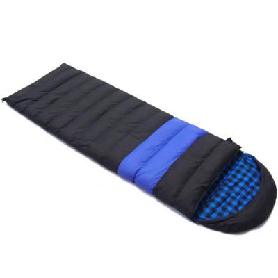 Warm weather multiple function camping envelope sleeping bag