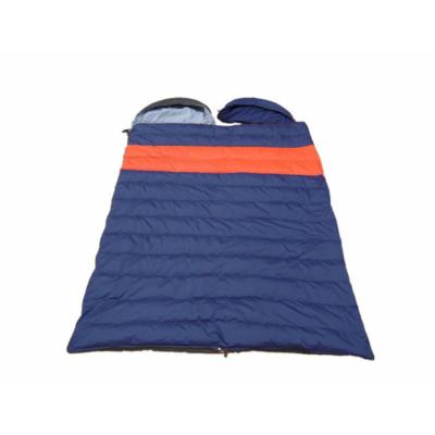 2 way duck down winter outdoor envelope sleeping bags