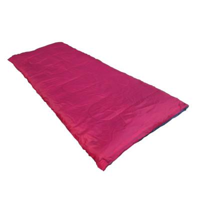 Polyester material hollow fiber filling camping outdoor  envelope sleeping bag