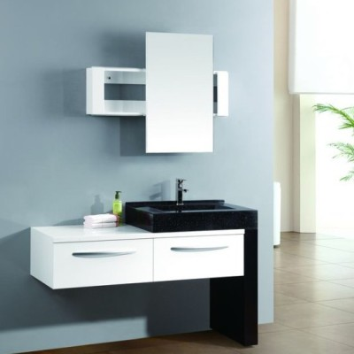 New style economical cheap MDF bathroom cabinet