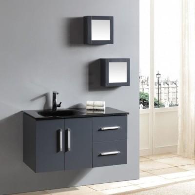 Flat pack MDF bathroom cabinet vanity cabinet