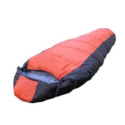 Winter waterproof mountain-climbing mummy camping sleeping bag