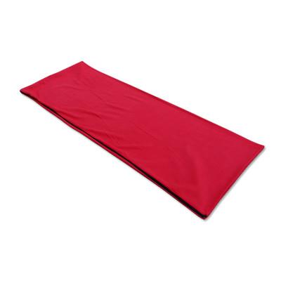 Summer envelope blanket single side fleece sleeping bag