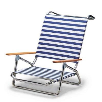 Canopy blue outdoor folding beach sun chaise chair