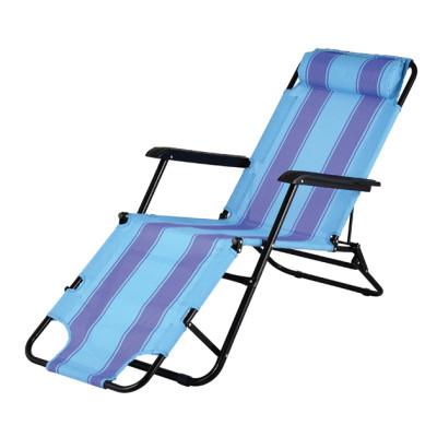 Adult camping folding leisure beach chair chaise longue