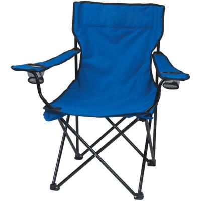 Blue oxford fabric steel tube leisure beach chair