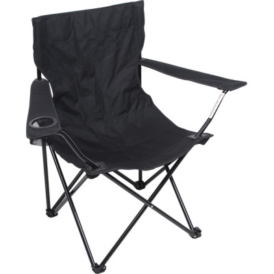 All black armrest foldable fishing beach chairs