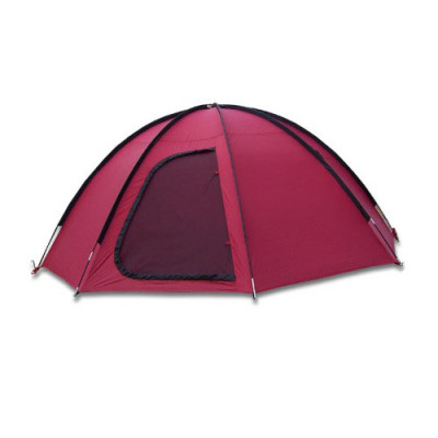 Double layer 4 persons waterproof outdoor family tent