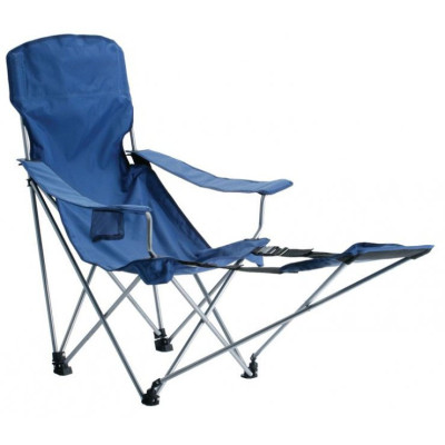 Removable footrest strong steel tube relaxing beach chair