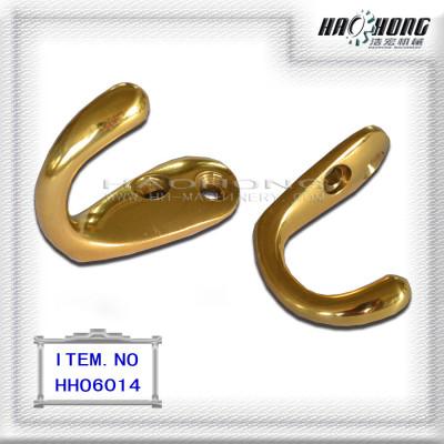 brass coat & hat hook